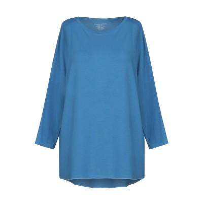 マジェスティック MAJESTIC FILATURES T シャツ アジュールブルー 1 レーヨン 96% / ポリウレタン 4% T シャツ