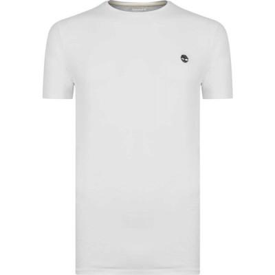 ティンバーランド Timberland メンズ Tシャツ トップス Fit Tee White