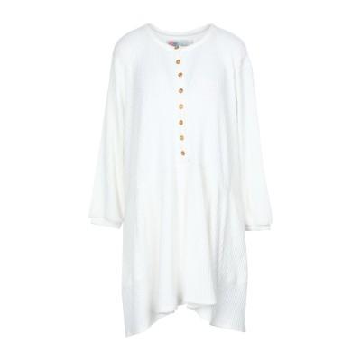 FREE PEOPLE ミニワンピース&ドレス ホワイト XS コットン 97% / ポリウレタン 3% ミニワンピース&ドレス