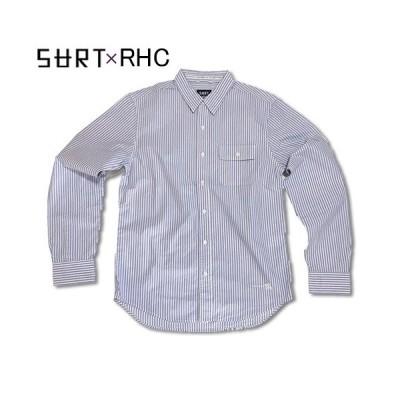 RHC Ron Herman (ロンハーマン): SURT × RHC Stripe Wash シャツ (Blue/Red/White)