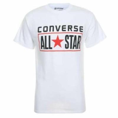 All Star オールスター ファッション トップス Converse Men Short Sleeve All Star printed Cotton T Shirt
