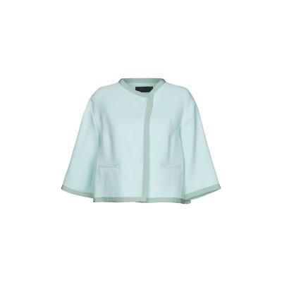 レ コパン LES COPAINS テーラードジャケット ライトグリーン 44 47% レーヨン 41% コットン 12% ナイロン テーラードジャ