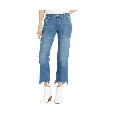 Free People フリーピープル レディース 女性用 ファッション ジーンズ デニム Maggie Mr Straight Jeans - Dark Denim