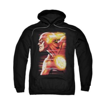 パーカー トレーナー DCコミックス Justice League The Flash Speed DC Comics Licensed Adult Pullover Hoodie