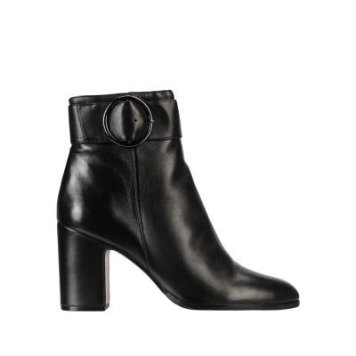 ブルーノ プレミ BRUNO PREMI ショートブーツ ブラック 36 羊革(シープスキン) 100% ショートブーツ