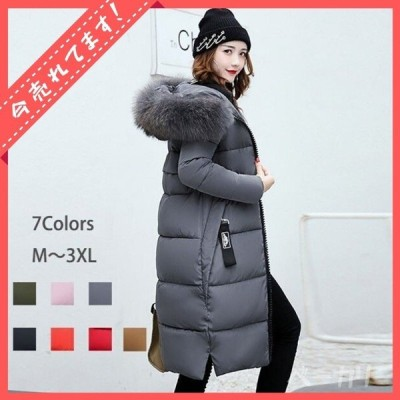 中綿ダウン レディース 40代 秋冬 ロング丈 軽い アウター コート coat