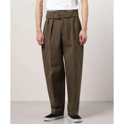 パンツ SEEALL/シーオール/BELTED BUGGY PANTS/ベルテット バギー パンツ