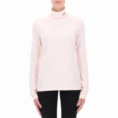 カルバンクライン ニット・セーター Pink cotton turtleneck sweater Pink