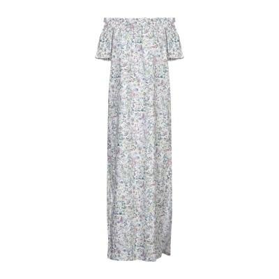 ANTONELLA VALSECCHI 7分丈ワンピース・ドレス グリーン M コットン 100% 7分丈ワンピース・ドレス
