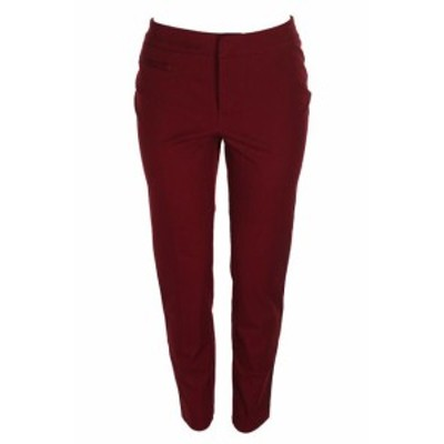 Red  ファッション パンツ Charter Club Red Zip-Pocket Ankle Pants 4