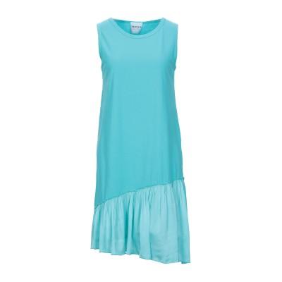 PEPITA ミニワンピース&ドレス ターコイズブルー 42 コットン 100% / レーヨン / レーヨン ミニワンピース&ドレス