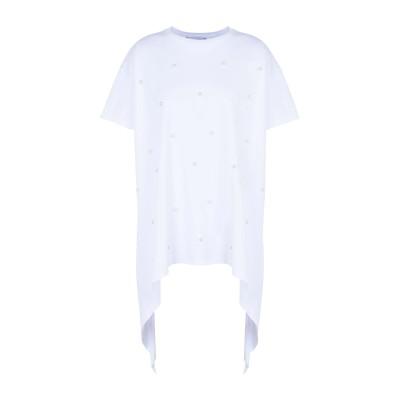 GAëLLE Paris T シャツ ホワイト 1 コットン 100% T シャツ