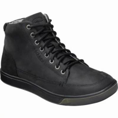 キーン スニーカー Glenhaven High Top Sneaker Black/Black
