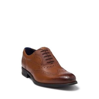 テッドベーカー メンズ ドレスシューズ シューズ Mitack Wingtip Leather Oxford TAN