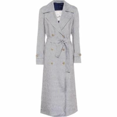 ジュリバ ヘリテージ コレクション Giuliva Heritage Collection レディース トレンチコート アウター The Christine linen trench coat