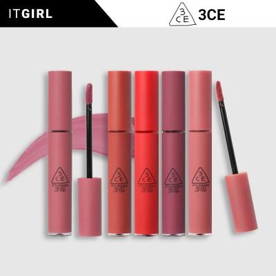 一日特価1+1も可能♬[3CE]Velvet Lip Tintティント/リップ/リップティント/口紅/Maison Kitsune限定盤/韓国コスメ[itgirl]