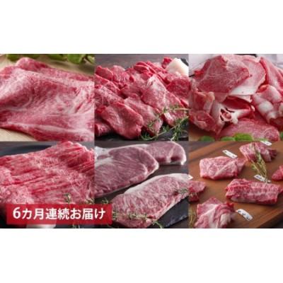 神戸牛贅沢6種【6ヵ月連続お届け】