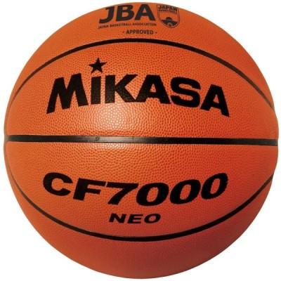 ミカサ(MIKASA) バスケットボール 日本バスケットボール協会検定球 7号 (男子用・一般・社会人・大学・高校・中学) 特殊天然皮革 茶 CF70