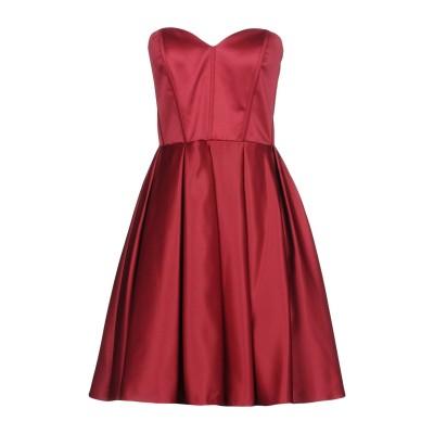 LADY CHIC® COLLECTION ミニワンピース&ドレス ボルドー 44 ポリエステル 100% ミニワンピース&ドレス