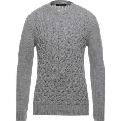 ブイネック VNECK メンズ ニット・セーター トップス sweater Light grey