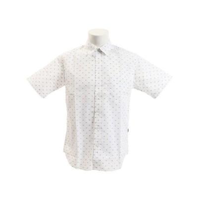 エーグル(AIGLE) DFTドットシャツ半袖 ZCH035J-111 (メンズ)