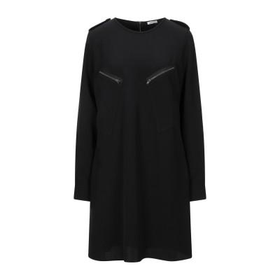 パロッシュ P.A.R.O.S.H. ミニワンピース&ドレス ブラック M ポリエステル 97% / ポリウレタン 3% ミニワンピース&ドレス