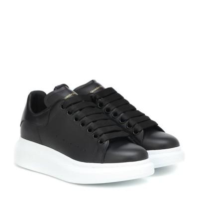 アレキサンダー マックイーン Alexander McQueen レディース スニーカー シューズ・靴 leather sneakers Black