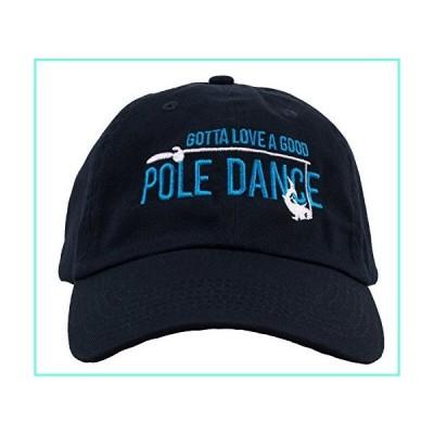 Gotta Love a Good Pole Dance | Funny Fishing Humor Fisherman Baseball Hat Cap Navy Blue並行輸入品