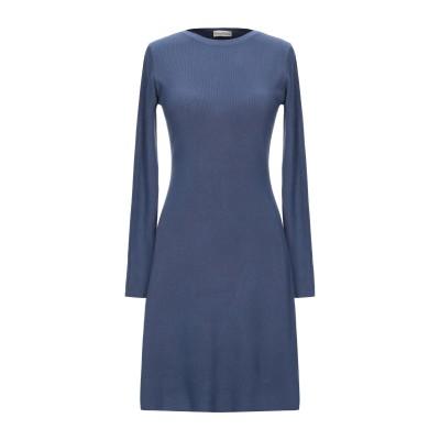 CASHMERE COMPANY ミニワンピース&ドレス ブルーグレー 48 ウール 50% / カシミヤ 30% / ナイロン 15% / ポリウ