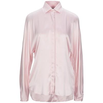 カリバン CALIBAN シャツ ピンク 42 シルク 93% / ポリウレタン 7% シャツ