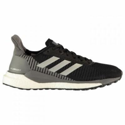 アディダス adidas レディース スニーカー シューズ・靴 Solar Glide Trainers Black/Silver