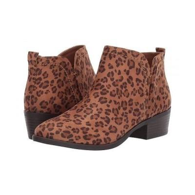 MIA エムアイエー レディース 女性用 シューズ 靴 ブーツ アンクルブーツ ショート Jaymi-LN - Leopard