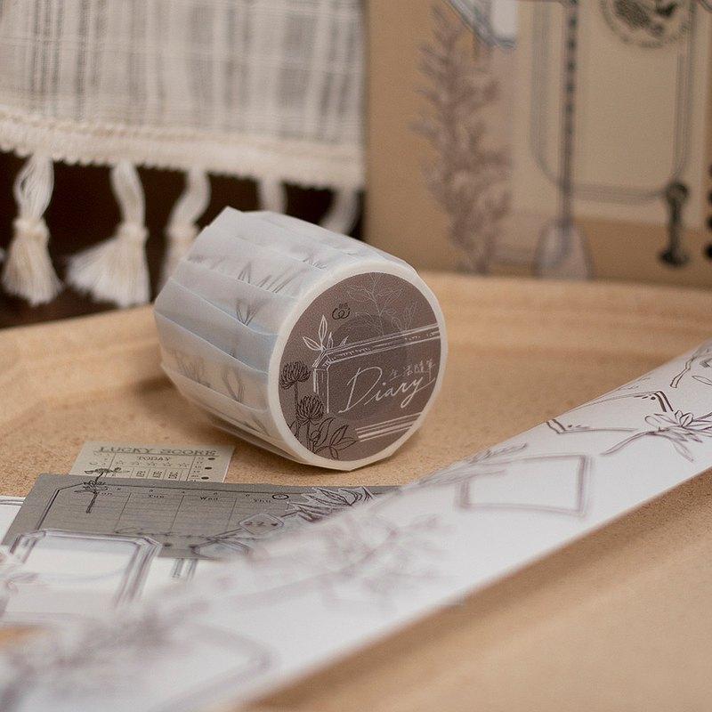 5cm紙膠帶-生活隨筆