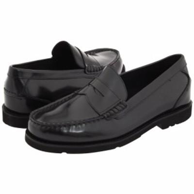 ロックポート Rockport メンズ ローファー シューズ・靴 Oak Knoll - Shakespeare Circle Black Brush-Off Leather