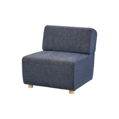 ソファー 1人掛け 椅子 テレワーク 在宅 チェア 一人暮らし コンパクト ミニ 小さめ ネイビー ブルー 青 約 幅65 奥行88 高さ69 座面高41