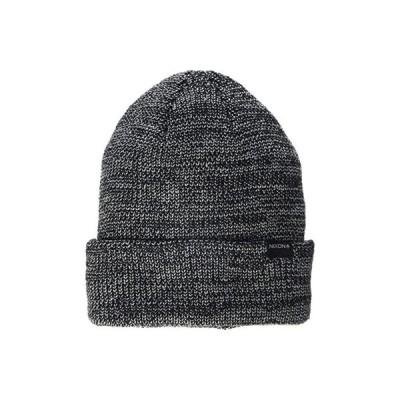 ニクソン Thomas R Beanie メンズ 帽子 Black/Gray