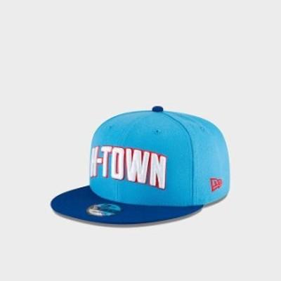 """ニューエラ キャップ NBA """"Houston Rockets"""" New Era Authentics City Series 9FIFTY Snapback Hat 帽子 Blue/Red"""