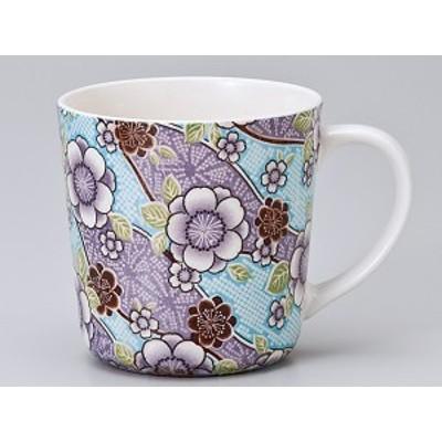 コーヒー カップ コップ/ 紅染 丸マグ(青) /業務用 家庭用 人気 ギフト 贈り物 花 フラワー おしゃれ かわいい インスタ