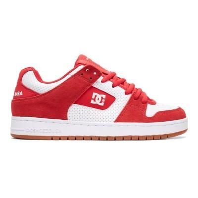 カジュアルシューズ ディーシーシューズ DC Shoes Men's Manteca Shoes ADYS100177 RED/WHITE/RED