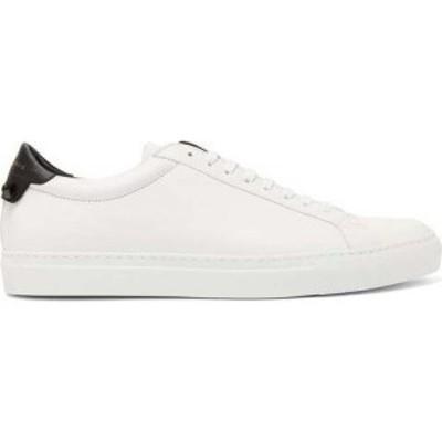 ジバンシー Givenchy メンズ スニーカー シューズ・靴 Urban Street leather trainers White