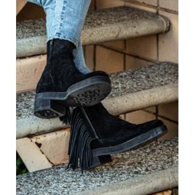 glamb グラム Fringe boots フリンジブーツ