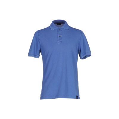 ドルモア DRUMOHR ポロシャツ パステルブルー XS コットン 100% ポロシャツ