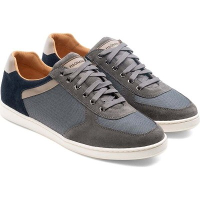 マグナーニ MAGNANNI メンズ スニーカー シューズ・靴 Echo Lo Ii Sneaker Grey/Navy