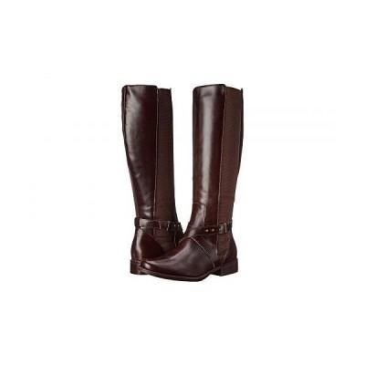 STEVEN NEW YORK スティーブンニューヨーク レディース 女性用 シューズ 靴 ブーツ ロングブーツ Sydnee - Brown Leather