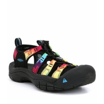 キーン レディース サンダル シューズ Newport Outdoor Water Resistant Performance Sandals Original Tie Dye