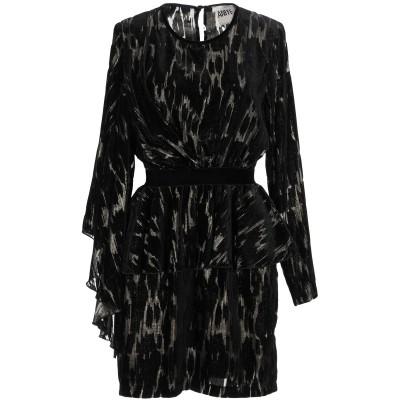 アニヤバイ ANIYE BY ミニワンピース&ドレス ブラック XS レーヨン 65% / ナイロン 25% / ポリエステル 10% ミニワンピー