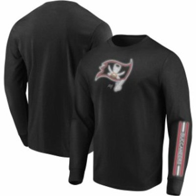 Majestic マジェスティック スポーツ用品  Majestic Tampa Bay Buccaneers Black Startling Success Long Sleeve T-Shirt