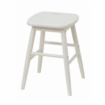 ロースツール スツール 木製 北欧 白 椅子 おしゃれ