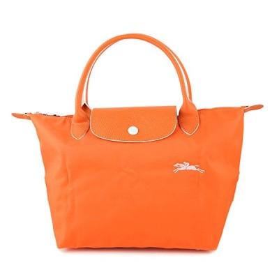 ロンシャン(LONGCHAMP) ハンドバッグ LE PLIAGE CLUB TOP HANDLE S 1621 619 P34 オレンジ/ホワイト