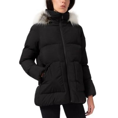 サムエデルマン レディース コート アウター Faux-Fur-Trim Hooded Puffer Coat
